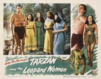 Tarzan and the Leopard Woman - 11 x 14 Movie Poster - Style D