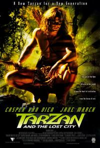 Tarzan and the Lost City - 11 x 17 Movie Poster - Style A
