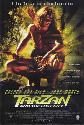 Tarzan and the Lost City - 27 x 40 Movie Poster - Style A