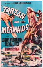Tarzan and the Mermaids - 11 x 17 Movie Poster - Style A