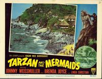 Tarzan and the Mermaids - 11 x 14 Movie Poster - Style B