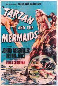 Tarzan and the Mermaids - 27 x 40 Movie Poster - Style A