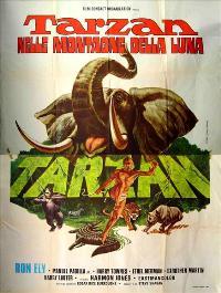 Tarzan and the Mountains of the Moon - 11 x 17 Movie Poster - Italian Style B
