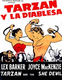 Tarzan and the She-Devil - 11 x 17 Movie Poster - Spanish Style A