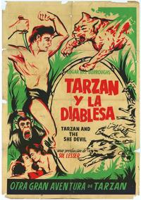 Tarzan and the She-Devil - 11 x 17 Movie Poster - Spanish Style B