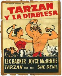Tarzan and the She-Devil - 27 x 40 Movie Poster - Spanish Style A