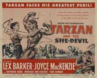 Tarzan and the She-Devil - 22 x 28 Movie Poster - Half Sheet Style A