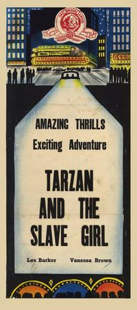 Tarzan and the Slave Girl - 11 x 17 Movie Poster - Australian Style A