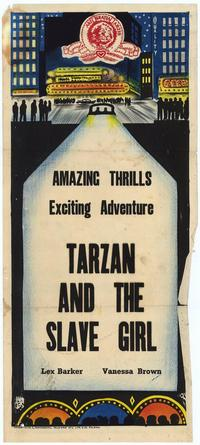 Tarzan and the Slave Girl - 27 x 40 Movie Poster - Australian Style A