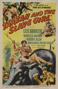 Tarzan and the Slave Girl - 27 x 40 Movie Poster - Style A