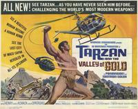 Tarzan and the Valley of Gold - 11 x 14 Movie Poster - Style D