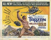 Tarzan and the Valley of Gold - 22 x 28 Movie Poster - Half Sheet Style A