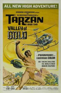 Tarzan and the Valley of Gold - 11 x 17 Movie Poster - Style A