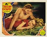 Tarzan Escapes - 11 x 14 Movie Poster - Style F