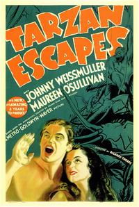 Tarzan Escapes - 11 x 17 Movie Poster - Style A