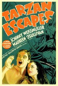 Tarzan Escapes - 27 x 40 Movie Poster - Style A