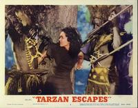 Tarzan Escapes - 11 x 14 Movie Poster - Style B