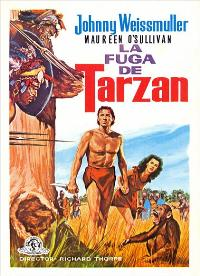 Tarzan Escapes - 27 x 40 Movie Poster - Swedish Style A