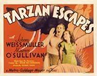 Tarzan Escapes - 11 x 14 Movie Poster - Style C