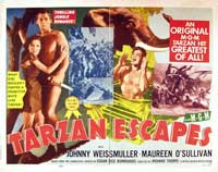 Tarzan Escapes - 11 x 14 Movie Poster - Style D
