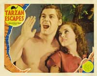 Tarzan Escapes - 11 x 14 Movie Poster - Style E