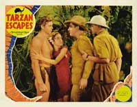 Tarzan Escapes - 11 x 14 Movie Poster - Style H