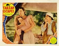 Tarzan Escapes - 11 x 14 Movie Poster - Style I