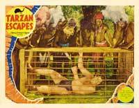 Tarzan Escapes - 11 x 14 Movie Poster - Style J