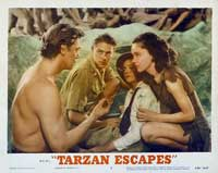 Tarzan Escapes - 11 x 14 Movie Poster - Style M