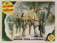 Tarzan Escapes - 11 x 14 Poster Spanish Style A