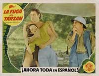 Tarzan Escapes - 11 x 14 Poster Spanish Style B