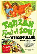 Tarzan Finds a Son - 27 x 40 Movie Poster - Style A
