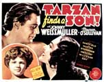 Tarzan Finds a Son - 11 x 14 Movie Poster - Style A