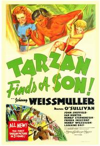 Tarzan Finds a Son - 11 x 17 Movie Poster - Style A
