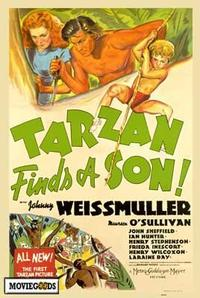Tarzan Finds a Son - 43 x 62 Movie Poster - Bus Shelter Style A