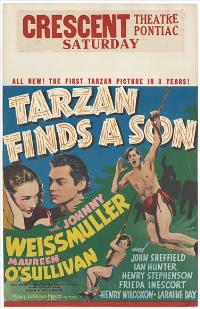 Tarzan Finds a Son - 11 x 17 Movie Poster - Style B