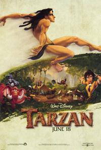Tarzan - 27 x 40 Movie Poster - Style B