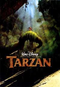 Tarzan - 27 x 40 Movie Poster - Style C