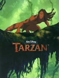 Tarzan - 27 x 40 Movie Poster - Style D