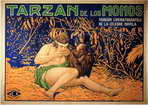 Tarzan of the Apes - 11 x 17 Movie Poster - Spanish Style A