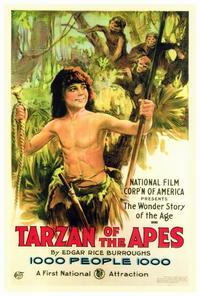 Tarzan of the Apes - 27 x 40 Movie Poster - Style A