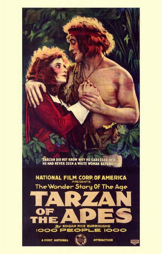 Tarzan of The Apes Movie Tarzan of The Apes 1918 Movie