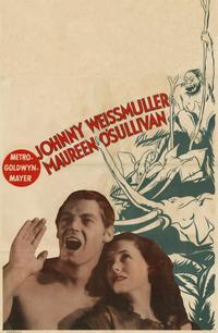 Tarzan The Ape Man - 11 x 17 Movie Poster - Style B