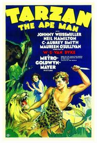Tarzan The Ape Man - 27 x 40 Movie Poster - Style A