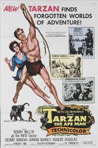 Tarzan The Ape Man - 27 x 40 Movie Poster - Style B