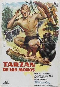 Tarzan The Ape Man - 27 x 40 Movie Poster - Spanish Style A