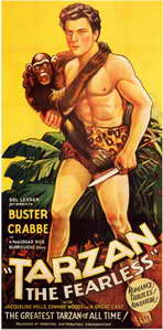 Tarzan the Fearless - 11 x 17 Movie Poster - Style A