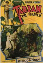 Tarzan the Fearless - 11 x 17 Movie Poster - Style H