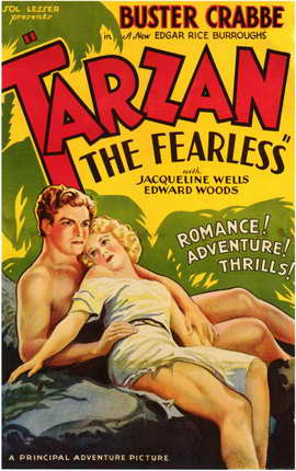 Tarzan the Fearless - 11 x 17 Movie Poster - Style D