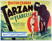 Tarzan the Fearless - 11 x 14 Movie Poster - Style D